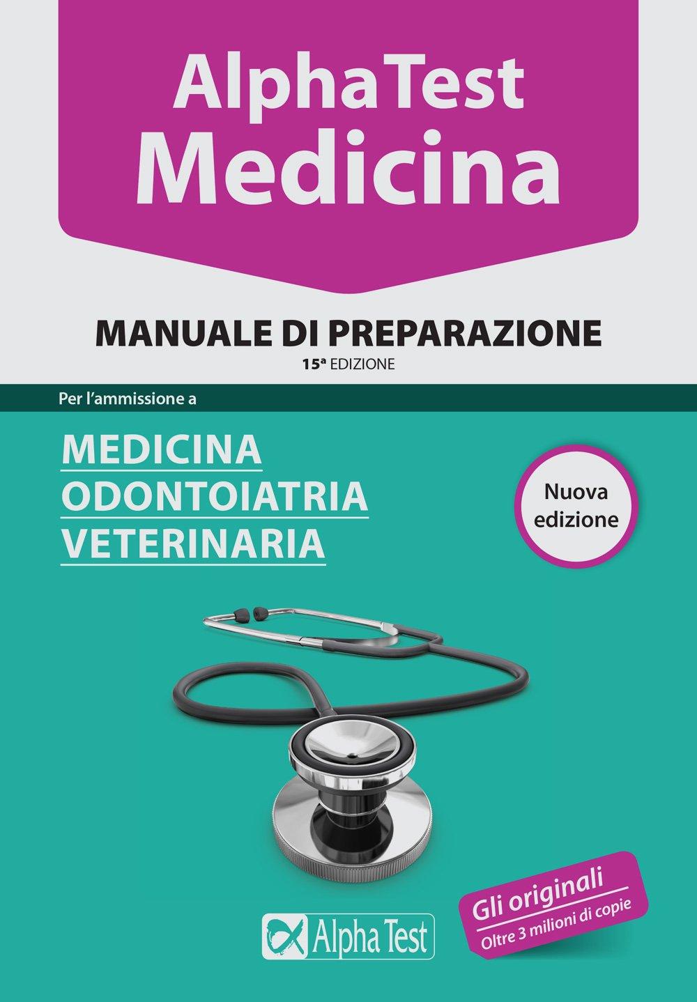 Alpha Test medicina 2016 – Manuale