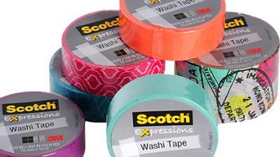 Scotch Expressions Washi Tape 3M