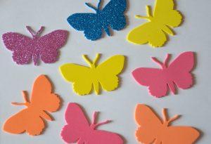 farfalle in gomma crepp