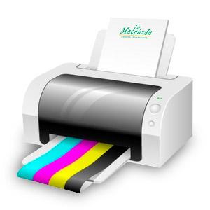 Servizio di stampa a colori