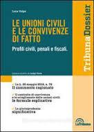 Le unioni civili e le convivenze di fatto