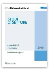 Studi di settore, 2016
