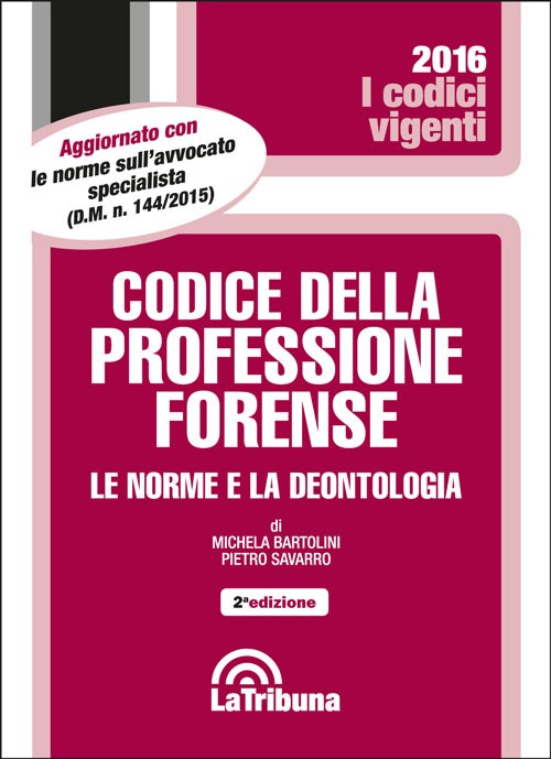 Codice della professione forense
