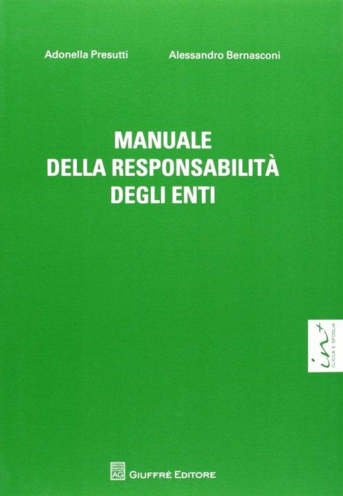 Manuale della responsabilità degli enti