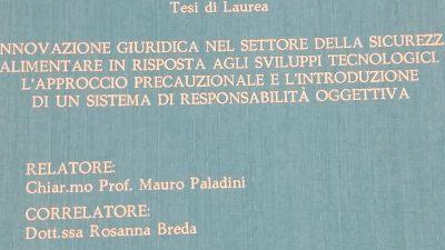 """Tesi """"Acqua dell'Elba"""""""