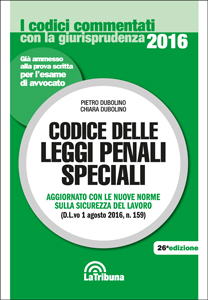 Codice delle leggi penali speciali LaTribuna