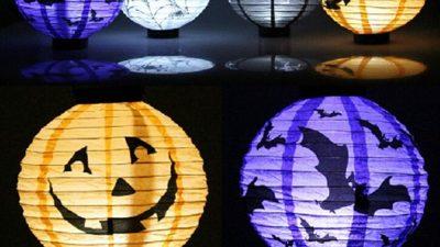 Halloween-Lanterna luminosa
