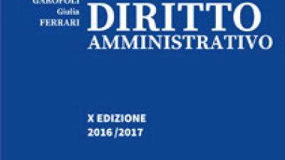Manuale di Diritto Amministrativo 2016/2017