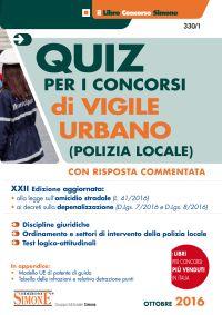 Concorso di Vigile Urbano – Quiz