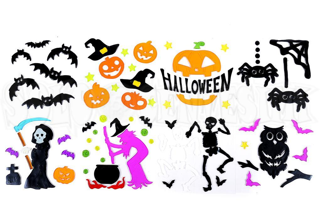 Halloween-Gel finestre