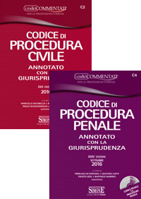 Codice di Procedura Civile + Codice di Procedura Penale