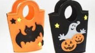 Halloween-borsa in feltro