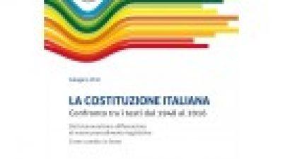 La Costituzione Italiana. Confronto dal 1948 al 2016