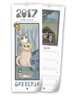 Calendario Akena-Gatteria 2018