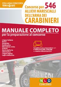 546 Allievi Marescialli Carabinieri