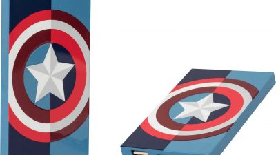 Marvel-Avengers-Capitan America-Powerbank