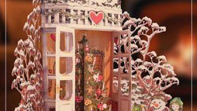 Biglietto Merry Christmas 3d