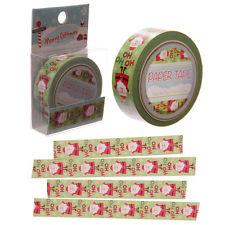Paper tape natalizio