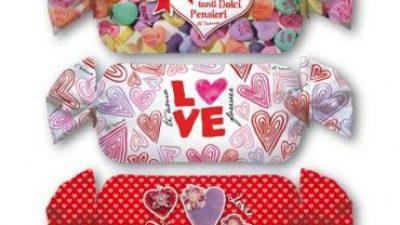 Cuscino caramella love