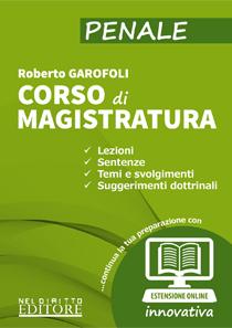 Corso di magistratura Garofoli
