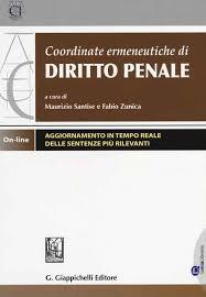 coordinate ermeneutiche diritto penale
