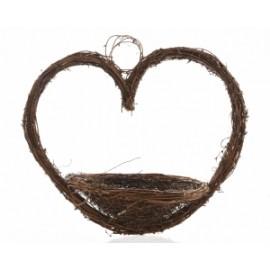 nido a forma di cuore