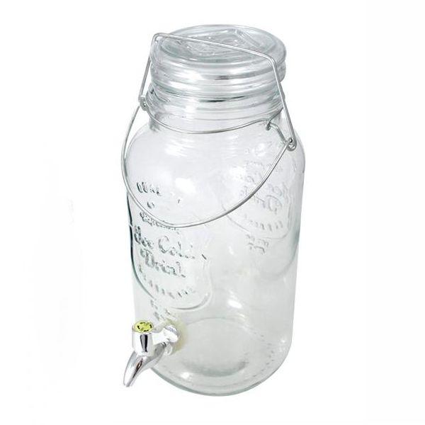 dispnser per liquidi con rubinetto