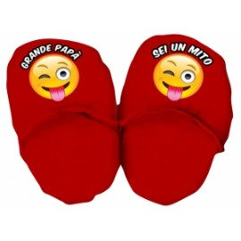 maxi pantofole emoticons