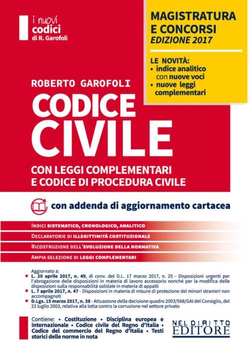 Codice Civile e Codice di Procedura Civile