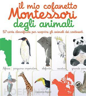 57 carte per scoprire gli animali dei continenti
