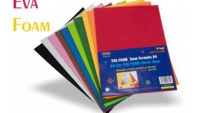 Carta EVA Foam Standard e Autoadesiva