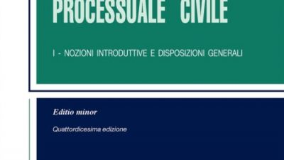 Corso di Diritto Processuale Civile