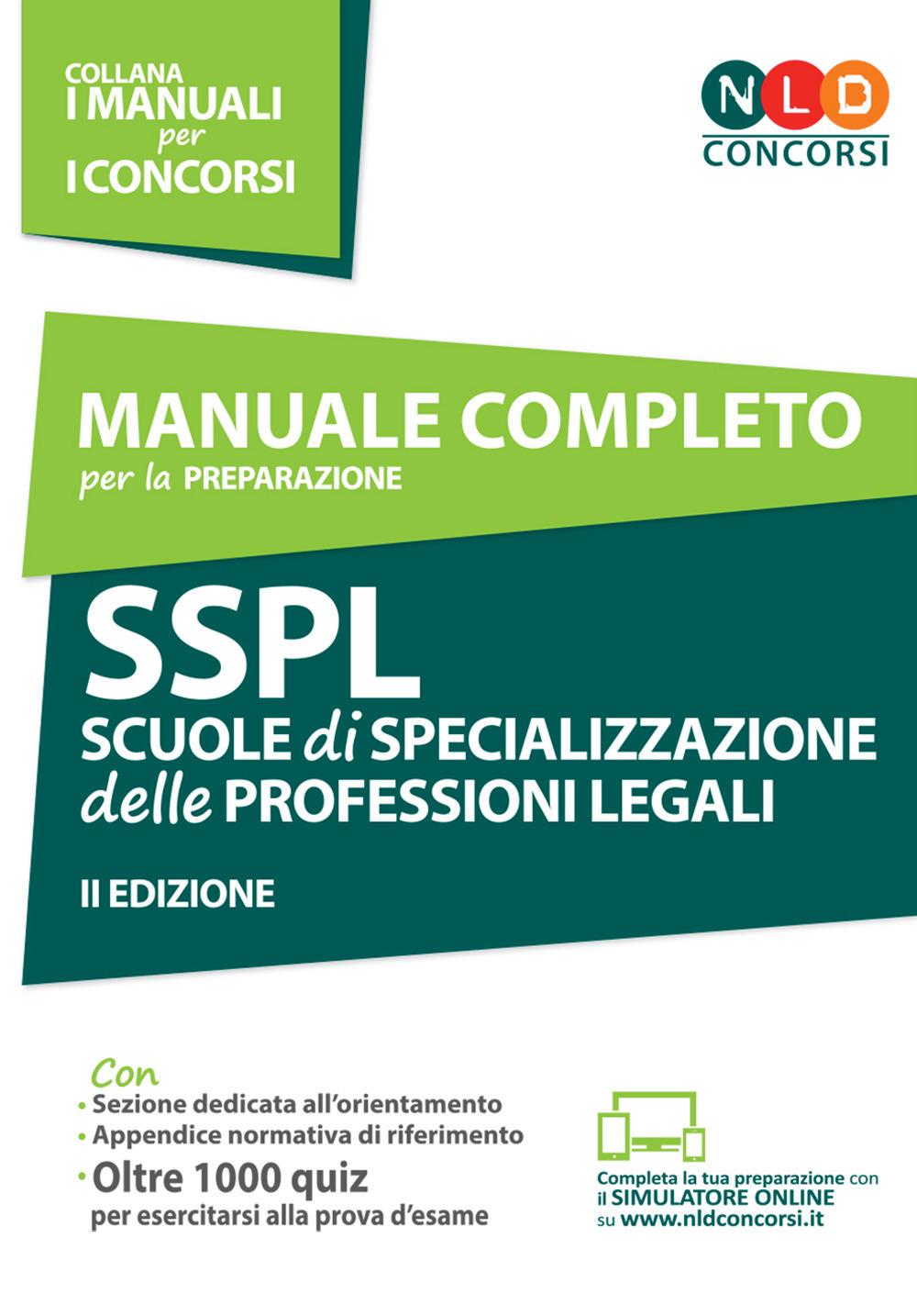 SSPL Scuole di Specializzazione delle Professioni Legali