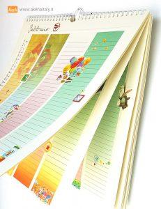 calendario della famiglia akena
