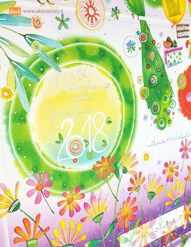 calendario goccioline akena