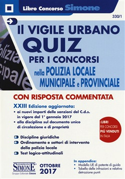 concorso polizia locale municipale e provinciale