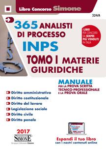concorso inps manuale per la prova scritta e orale