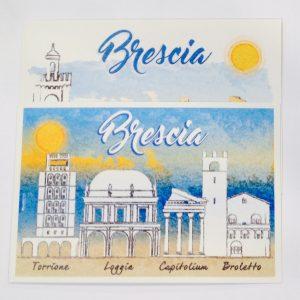Cartoline monumenti Brescia