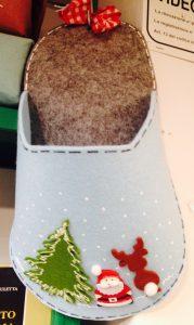 porta pantofole, idea regalo natale 2017