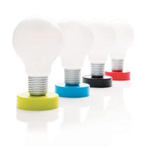 lampada senza cavi, accendi con un click