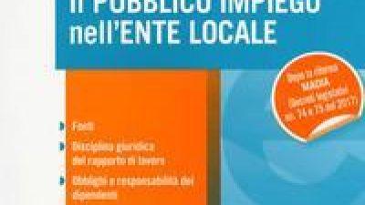 Il pubblico impiego nell'ente locale