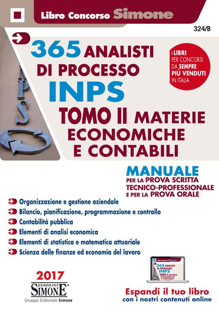 concorso inps, tomo II materie economiche e contabili
