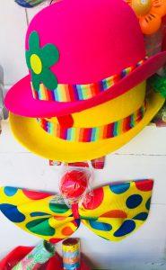accessori clown carnevale 2018