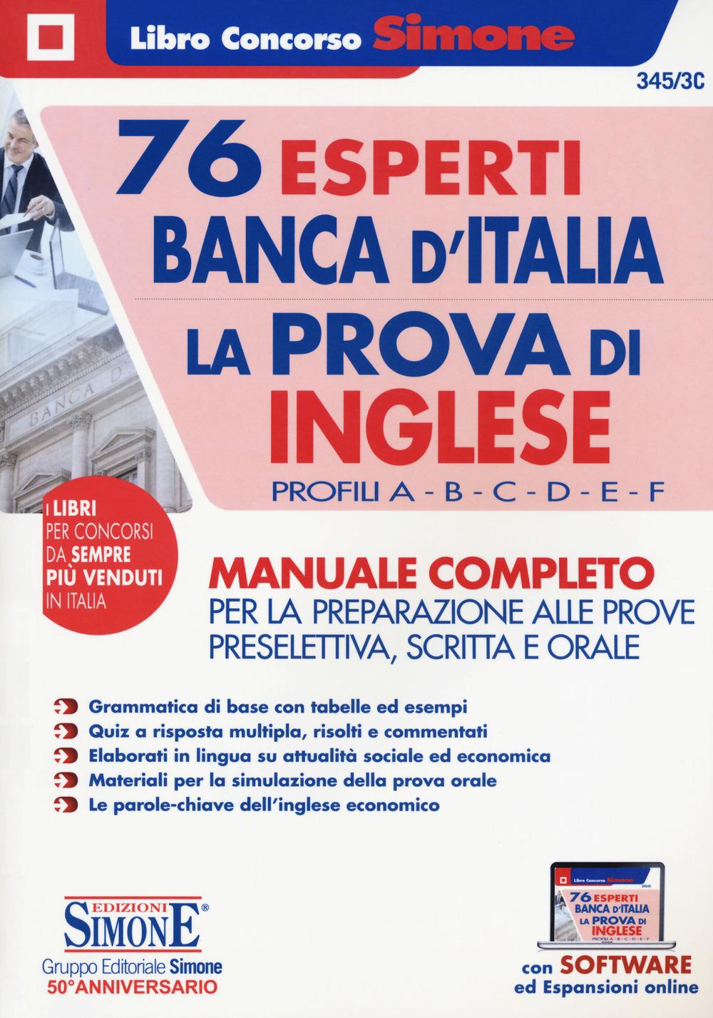 76 Esperti Banca d'Italia