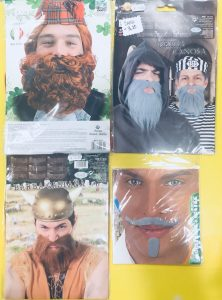 barba vichingo carnevale