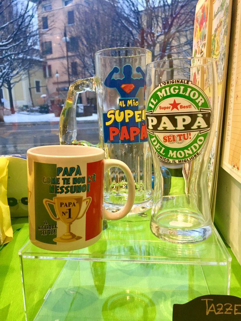 Tazze e bicchieri super papà