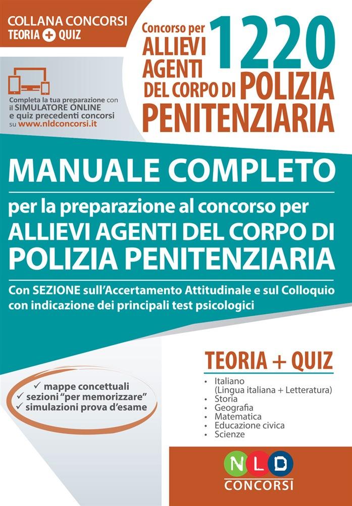 manuale completo concorso polizia penitenziaria
