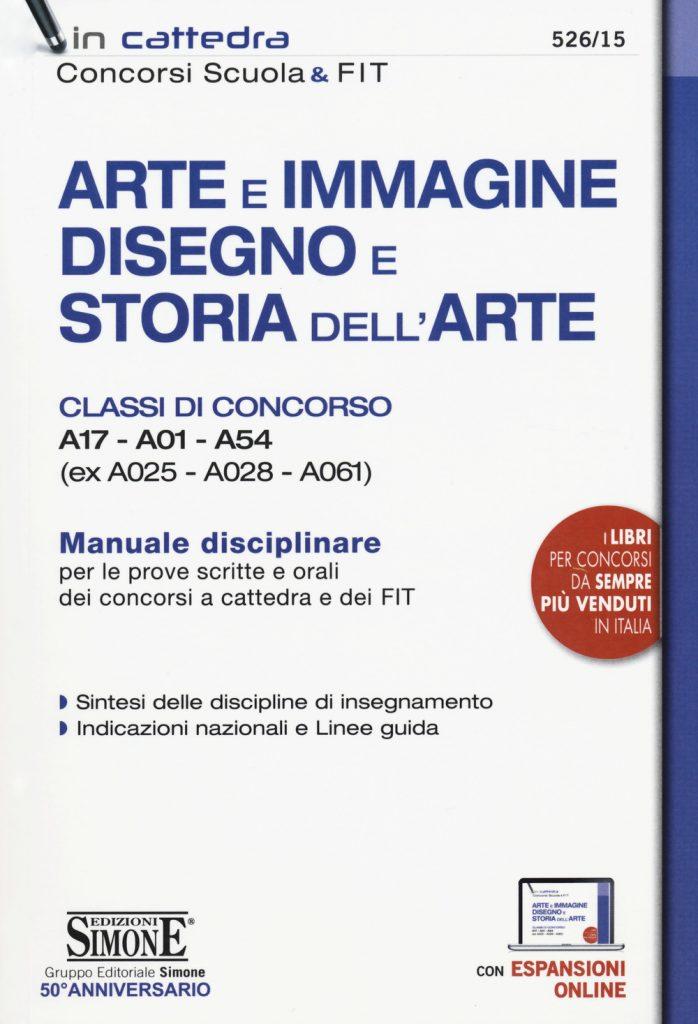 manuale disciplinare classi di concorso A17-A01-A54
