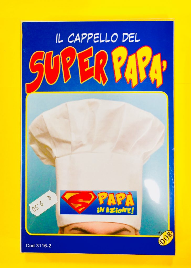 cappello cuoco festa del papà
