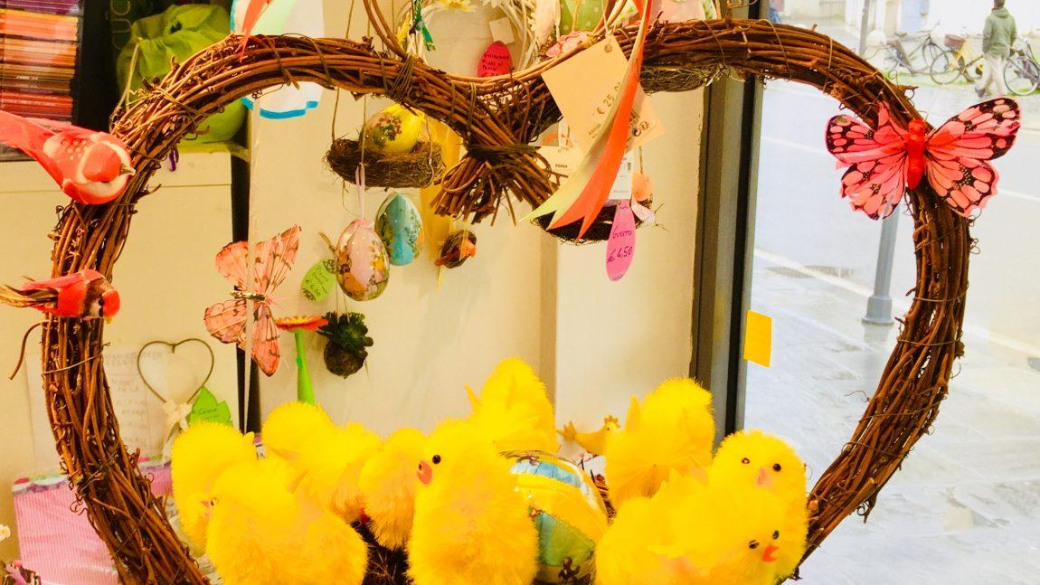 Ceste e nidi Pasqua
